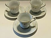 Liling Fine China Jade Tree Pattern Cup And Saucer Set