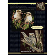 Australian Birds Two Cross Stitch Order Chart With Or Without Aida And Dmc Thread