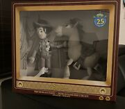 Woody And Bullseye Plush Toy Story Set 25th Anniversary Limited Release