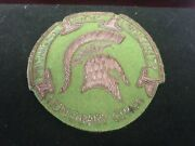 Vintage Msu Michigan State Honorary Coach Button Pin Basketball Football Pennant