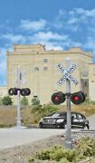 Walthers Ho 949-4333 Crossing Signal Flashers Working Lights 2-pack - Nib