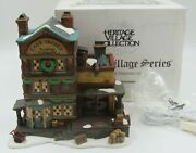Dept 56 Dickens Village East Indies Trading Co In Box With Light Cord 1997