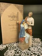 Willow Tree The Holy Family A Child Is Born Susan Lordi Demdaco Original Box