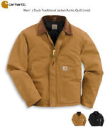 Nwt Arctic Quilt Lined Duck Traditional Jacket