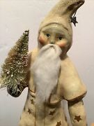 Nicol Sayre A Christmas Wish Belsnickle Santa Dated 2003 15 Inches Tall