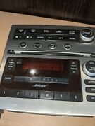 2005-07 Infiniti G35 Stereo 6 Cd Changer Ac Climate Control Panel Oem Face Plate
