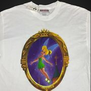 Rare Vintage 90s Disney Tinkerbell Tshirt New Character Of The Month Large