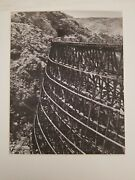 Railroad Trestle Award Winning 16 X 20 Photograph Awesome Detailed Display Piece