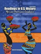 Readings In U. S. History African-american Emphasis By Keith R. V....