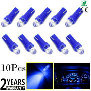 10x Led Projector Head 37 73 74 79 T5 Gauge Cluster Background Lighting For Ford