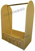 Dressing Up Stand With Hanging Rail 700mm High/6 Free Letters