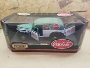 1 18 Matchbox 1940 Coca Cola Sedan Delivery With Opening Hood And All 3 Doors