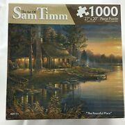 The Art Of Sam Timm 1000 Piece Jigsaw Puzzle The Peaceful Place 27x20