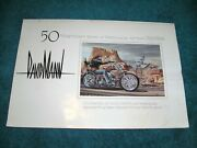 50 Magnificent Works Of Motorcycle Art From Easy Riders David Mann