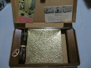 Vintage Electric Hot Tray By Tricolator Ht-66 Gold Very Rare Brand New