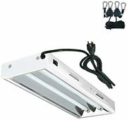 Hydro Planet T5 Grow Lights 2-ft 2-lamp Fluorescent Ho Bulbs Included