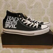 Converse X Bad Meets Evil Chuck Taylor 2010 Size 11.5 Eminem Royce The 5and0399