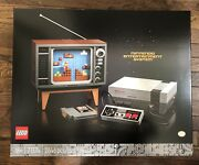 New In Hand Lego Super Mario Nintendo Entertainment System 71374   Ships Fast