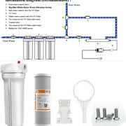 10 Standard Whole House Water Filter System With Carbon Block Sediment Filter