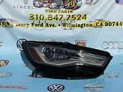 2016 2017 2018 Audi A6 Rh Right Led Headlight Xenon Complete Oem Used