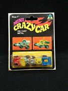 Set Of Two Vintage 70and039s Tin Toys Before Mattel Hot Wheels Zowees Mini