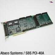 Abaco Systems Sbs Pci-40apci Card Four 4x Slot Industry Pack Carrier