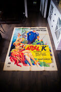 Atoll K Laurel And Hardy A 4x6 Ft French Grande Original Movie Poster 1951 Used