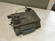 Vintage Chevrolet Straight Line Tuning Am Radio Untested Hot Rod For Parts Chevy
