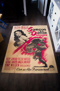 Samson And Delilah Style B 4x6 Ft French Grande Original Movie Poster 1949