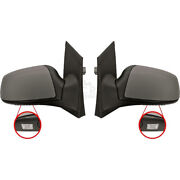 Exterior Mirror Set Ford Focus 01.05-07.07 Electric Heated Primed 1332446