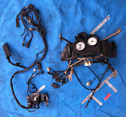 Ducati 888 Dash Instrument Panel + Harness + Fairing Stay Carbon Dash Cover