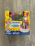 New Crayola Pip-squeaks Telescoping Marker Tower Assorted Colors 50/set 588750
