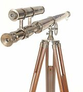 Harbour Master Telescope With Stand-40 Inch - Nautical Decor