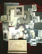 Vintage Lot Of Photos Photography 150 Plus Cowboys Family Photos Post Cards