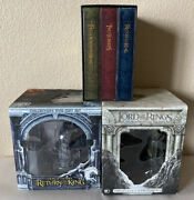 Lord Of The Rings Collectors Dvd Gift Sets And Extended Complete Trilogy Series