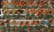 Lead Soldiers Army Buccaneers Cannon Barrels Pirate Lot