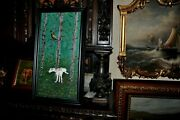 Original Hunting Dog Vs Pheasant Painting By Listed Artist