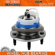 Front Wheel Bearing And Hub For 1997-01 Pontiac Grand Prix Chevy Impala Seville