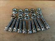 Hre Assembly Wheel M8 X 125 3piece Wheel Chrome Bolts And Nut Real 40 Pcs