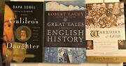 Lot Of 3 Historical Bios Warriors Of God Great Tales From English History +