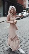 For Love And Lemons Lilou Dress Dusty Rose S Nwot