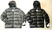 Nwt 375 New Calvin Klein Menand039s X-fit Down Blend Puffer Jacket