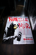 Banksy Exit Through Gift Shop 4x6 Ft French Grande Original Movie Poster 2010