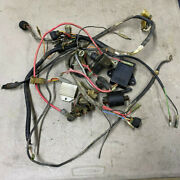 1990 Yamaha Champ Yfm100a Main Wire Harness Parts Only