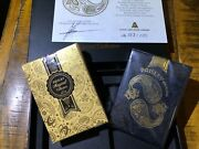 Rare Paisley Magical Collection Playing Cards Dutch Card House Collector's