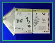 Stampin' Up Butterfly Basics Stamp Set And Butterflies Thinlits Dies New 2