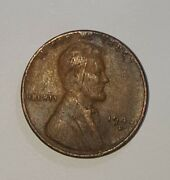 Rare Wheat Penny 1946 D Mint