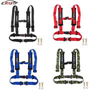 Universal Vehicle Racing 4 Point Auto Car Safety Seat Belt Buckle Harness