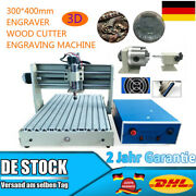 4 Axis 3040 Cnc Router 3d Engraver Pcb Wood Engraving Mill Drill Cutting Machine