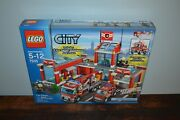 Lego City Set 7945 Fire Station Factory Sealed New In Box - Retired